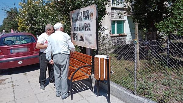 Един от обособените кътове за отдих в квартал Ливадето