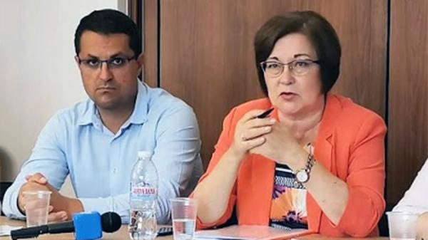 Петко Пенков - Председател на Общински съвет - Троян и Донка Михайлова - Кмет на Община Троян