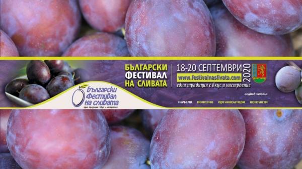 Български фестивал на сливата - 2020, град Троян