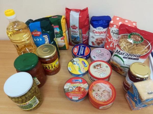 Съдържанието на един хранителен пакет