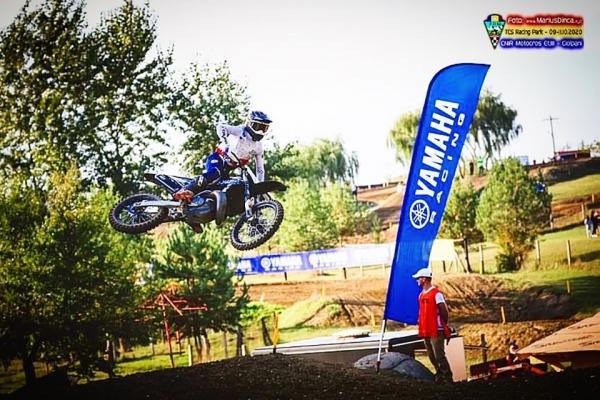Шампионът в Източноевропейския шампионат по мотокрос Майкъл Иванов