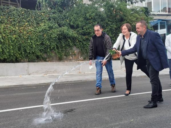 Откриха обновената улица
